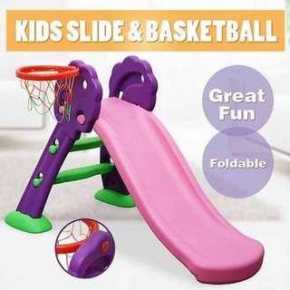 Slider Ladder With Basket Ball