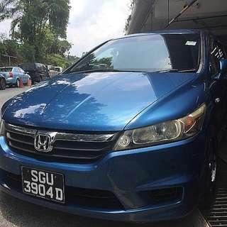Honda Stream 1.8A(New 5 Yr COE car)