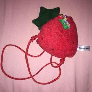 繪本 🐛好餓的毛毛蟲 草莓🍓 零錢包
