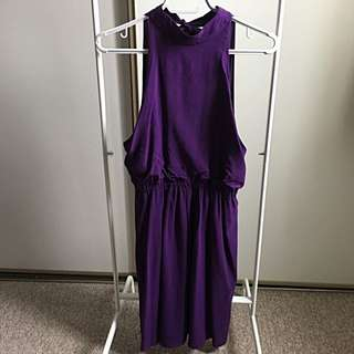 Alice and Olivia Purple Cocktail Dress (XS)