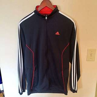Adidas Sweater In Black And Red