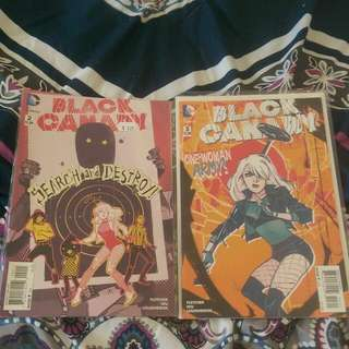New Black Canary Comics