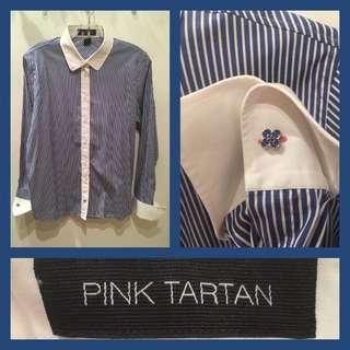 Size 12 - Pink Tartan - Blouse