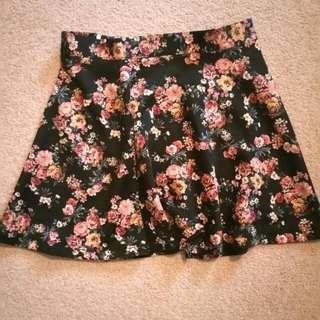 Floral Skirt From Forever 21