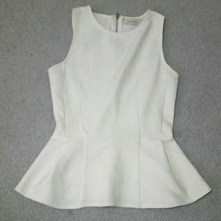 White Top From Costa Blanca