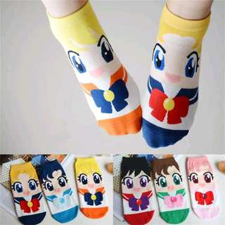 FREE POSTAGE Cute Sailor Moon Socks