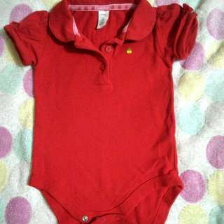Red Polo Onesies