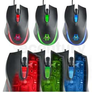 Cliptec Sauropo 1600dpi Gaming Mouse RGS560