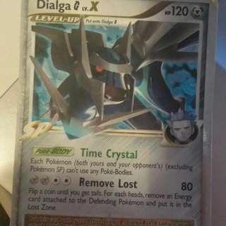 Diagla Lv.x 122/127 Single Pokémon Card