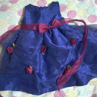 Purple Baby Gown