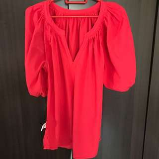 Southaven Red Blouse M Size