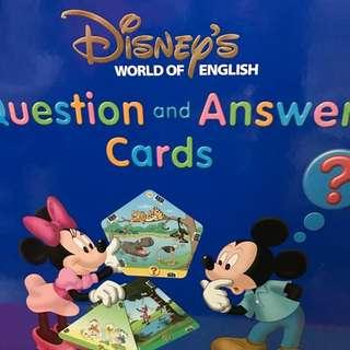 廸士尼美語世界-Q & A Card