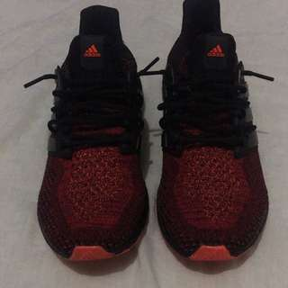 CUSTOM SOLAR RED ULTRA BOOST US12