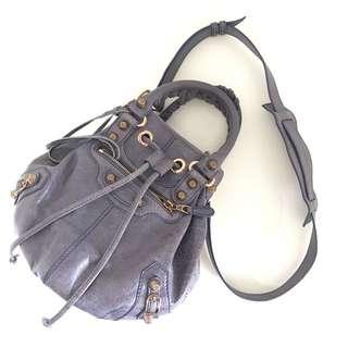 Balenciaga Bucket Bag Mini Pompon