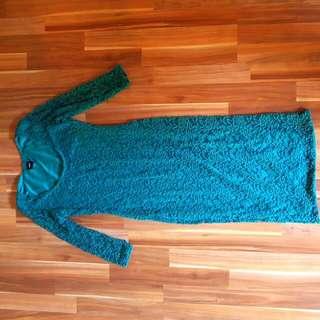 Asos Lace Long Sleeve Winter Dress