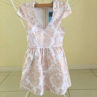 Showpony size 8 Rose gold Dress