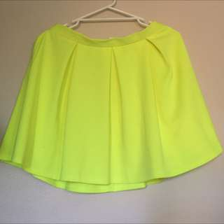 Neon Top Shop Skirt