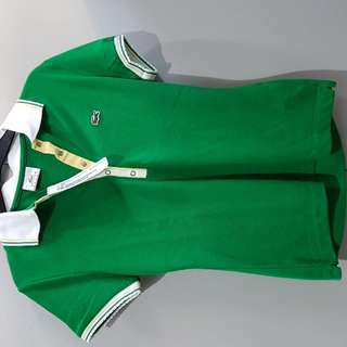 Lacoste Authentic Green Poloshirt