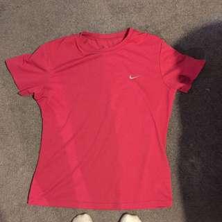 Nike Pink Gym Sports T Shirt