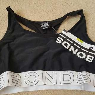 Bonds Sports Crop top. Size S