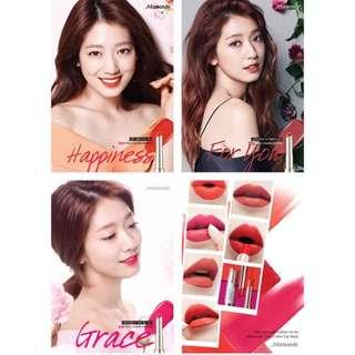 韓國代購🇰🇷Mamonde霧柔色唇膏