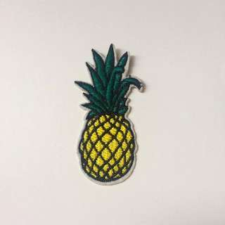 Iron-on Pineapple Patch!