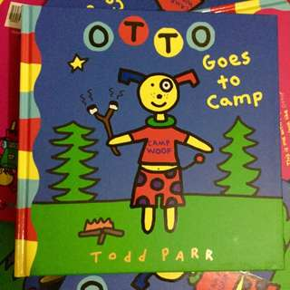Children's Book | Otto Goes To Camp