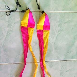 Planet Zips Yellow and Pink Poi