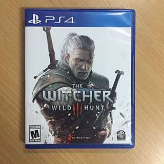 PS4 The Witcher Wildhunt