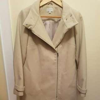Cream Colour Coat