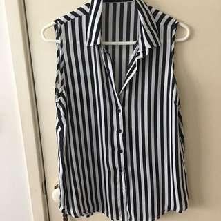 Stripe Top - Size 10