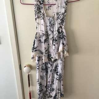 Shakuhachi Floral Dress - Size 8