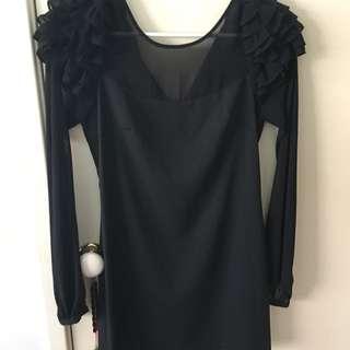 Black Blue juice Dress - Size 8