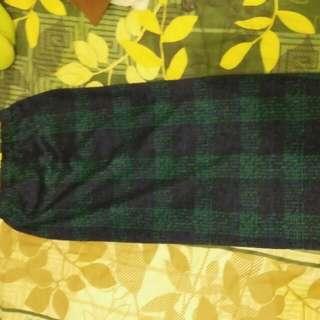 rok pensil biru