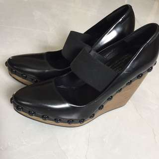 💖Spain Pedro García Platform Shoes 36.5