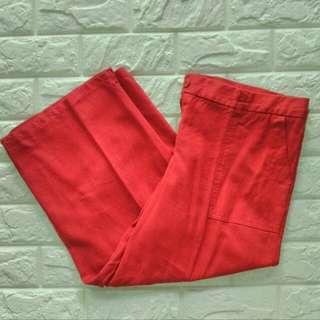 Linen Mid-Calf pants