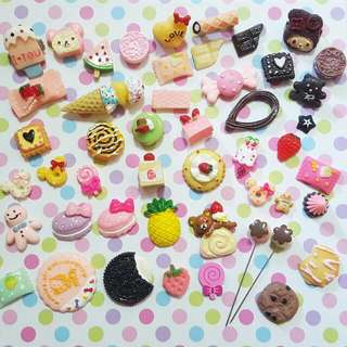 Sweet Treats Brooch / Hijab Pins / Scrapbook DIY
