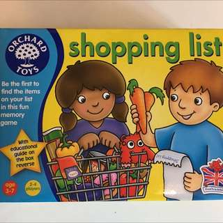 [New] Orchard Toys - Shopping List