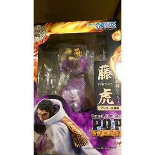 現貨  全新 海賊王 代理版 POP 系列 魂商店限定 海軍本部 新上將 藤虎
