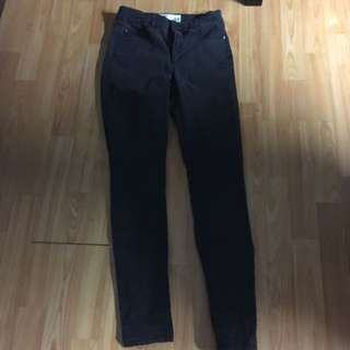 Garage Black High Waisted Jeans
