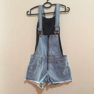 Baju Monyet Jeans+iner Tanktop