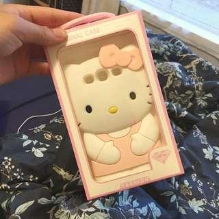 S3 Hello Kitty Silicone Case