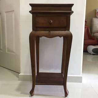 Table Stand With Drawer