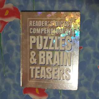 BOOKS READER'S DIGEST (Compendium Of PUZZLES  & BRAIN TEASERS.
