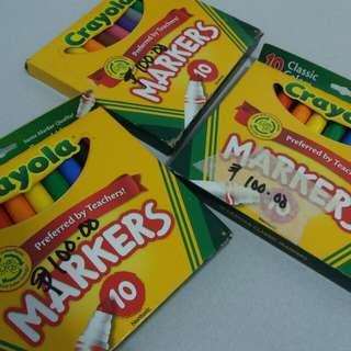 LAST 2: Crayola Classic Markers