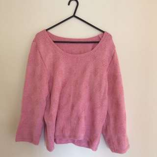 Hand-knitted Vintage Jumper (80s)
