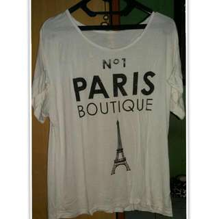 No. 1 Paris Boutique Shirt