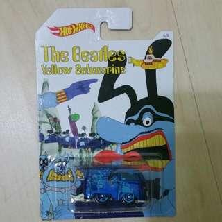 Hot Wheels Kool Kombi The Beatles Yellow Submarine Volkswagen
