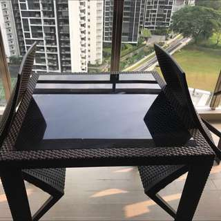 Outdoor Dinning Table And Chair