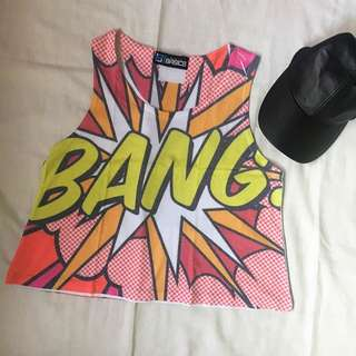 Bang Cropped Top